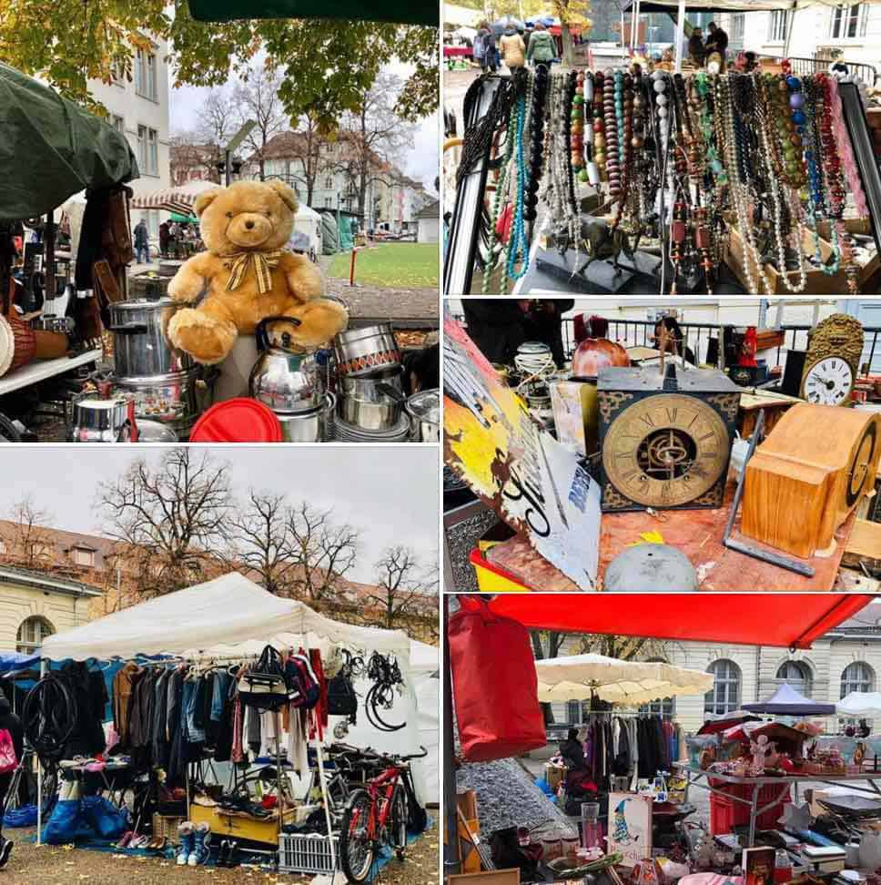 The Kanzlei Flea Market Zurich