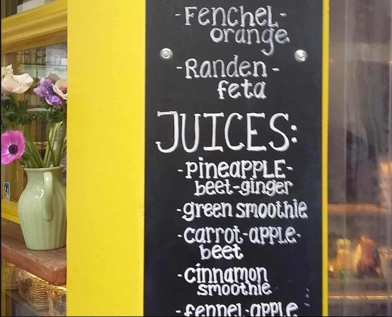 Saftlade Zurich - top juice bars Zurich