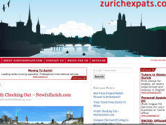 New In Zurich on Zurich Expats