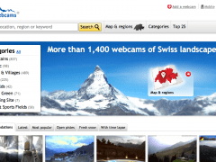 Swiss Webcams – over 1,400 webcams all over Switzerland