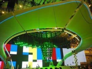 The Eurovision Songcontest Stadium Kiev 2017