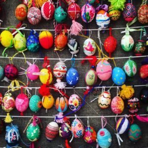Easter Egg festival in Sophia Square Kiev