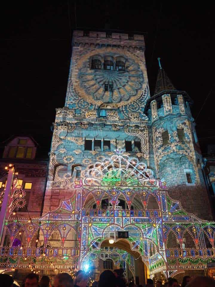 Images of the Illuminarium in Zurich