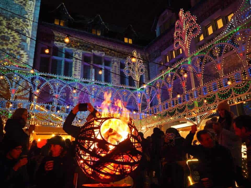 Images of the Illuminarium in Zurich
