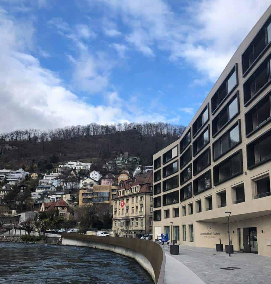 Hotel Limmathof Baden modern block