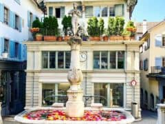 Free Water in Zurich – The 1200 Fountains