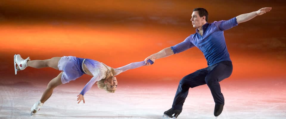 Olympic Gold Medallists Aljona Savchenko and Bruno Massot