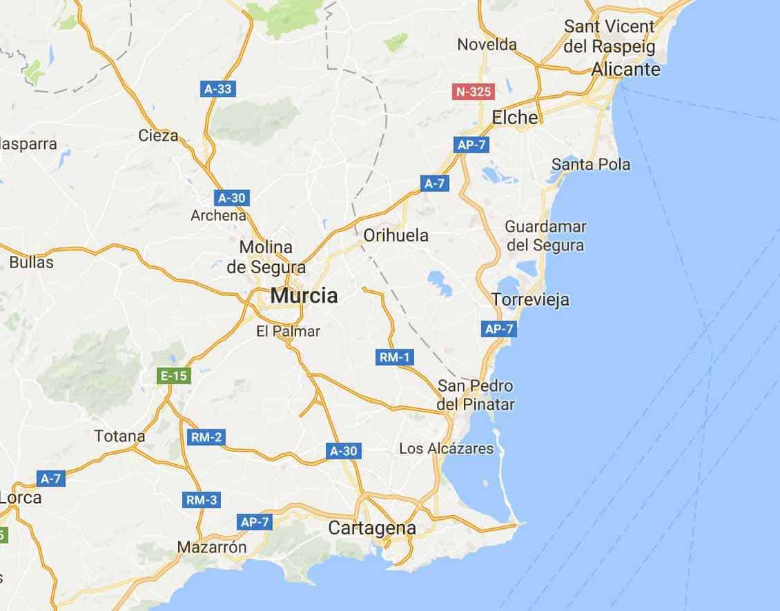 Short Break to Murcia and Alicante Spain