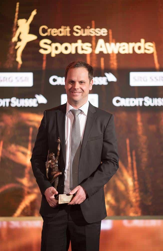 Severin Lüthi at Credit Suisse Sports Awards 2017