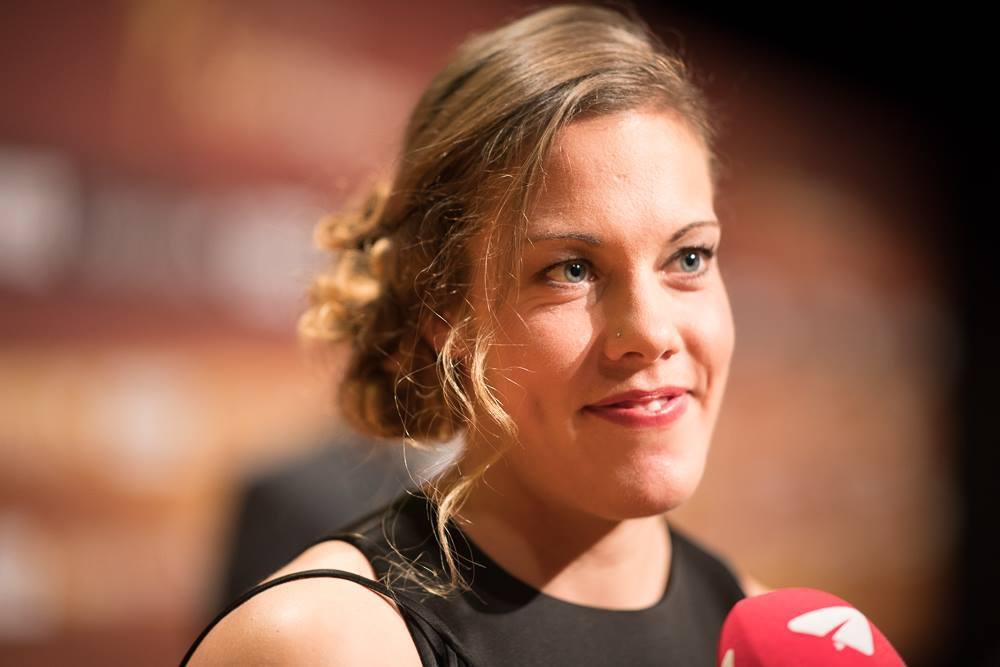 Jeannine Gmelin at Credit Suisse Sports Awards 2017