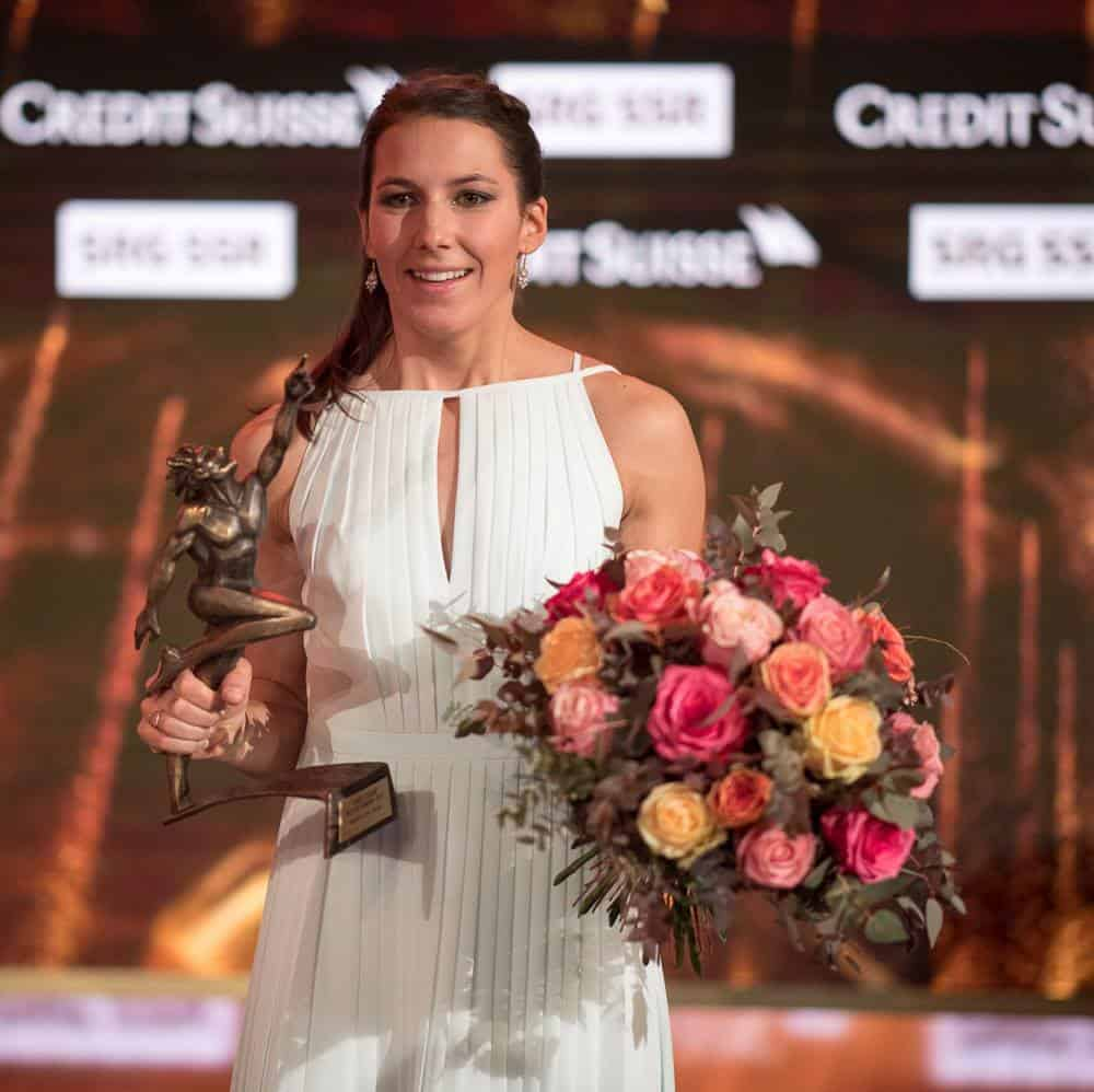 Wendy Holdener at Credit Suisse Sports Awards 2017