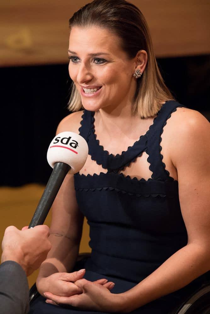 Manuela Schär at Credit Suisse Sports Awards 2017