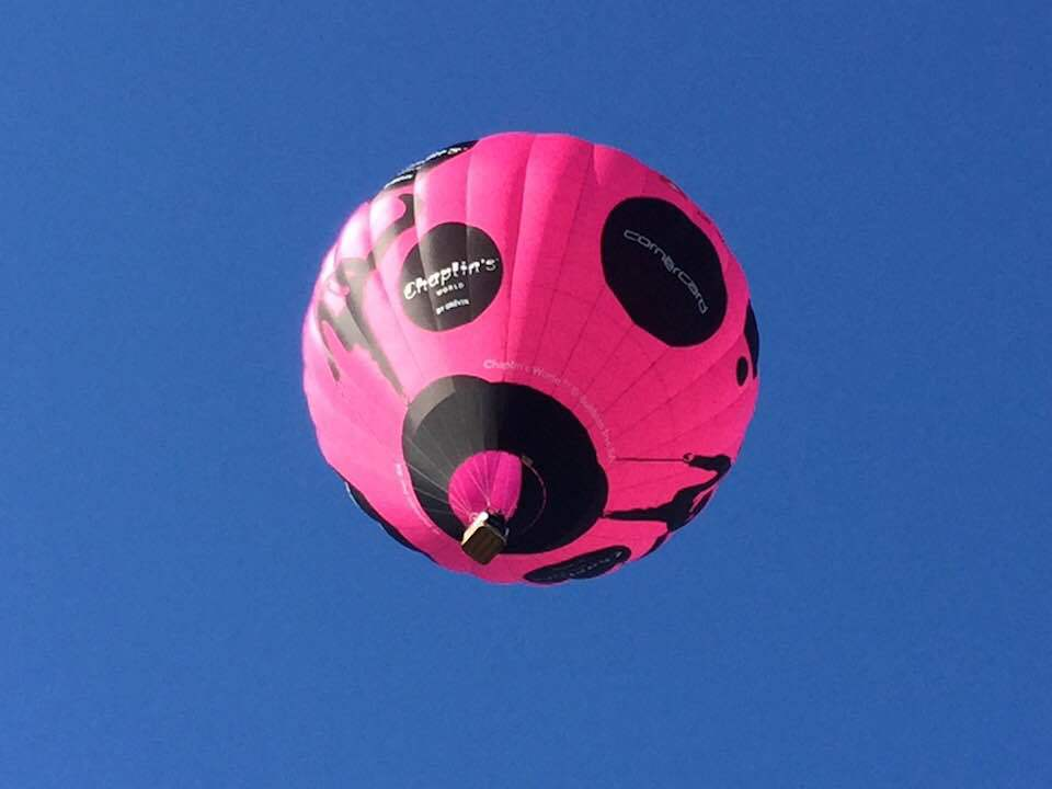 Flying High in Chaplin's World Balloon at Chateau d'Oex