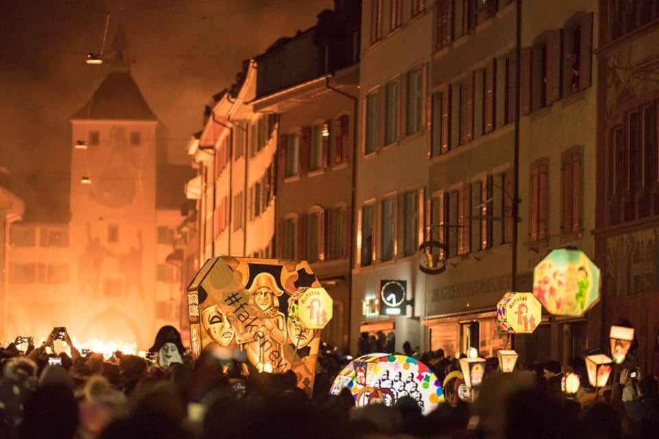 Chienbäse - Liestal Fire Parade - A Swiss Tradition