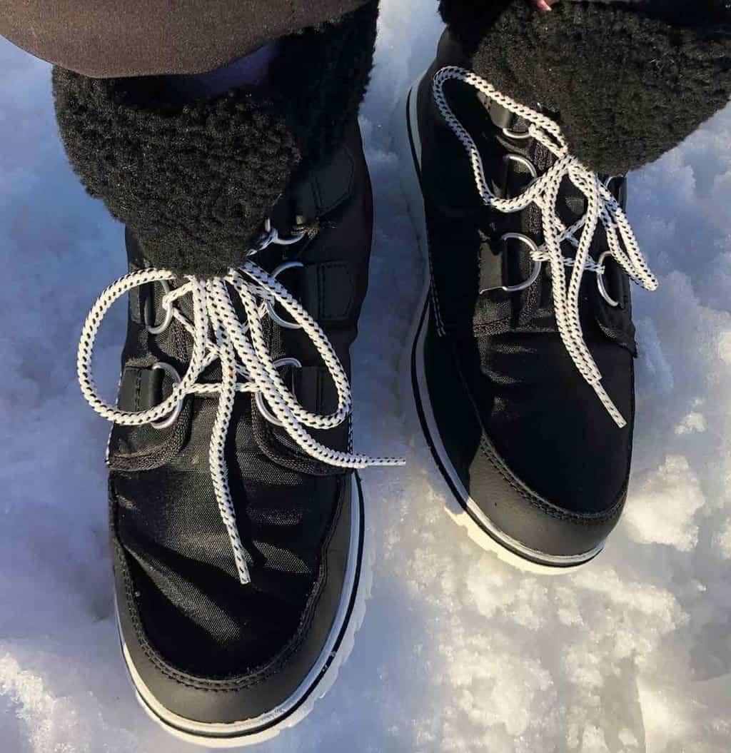 Sorel Snow shoes at Sixt Fer à Cheval
