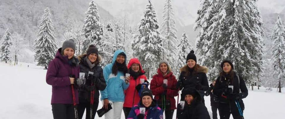 Snowshoeing in a Winter Wonderland at Sixt Fer à Cheval
