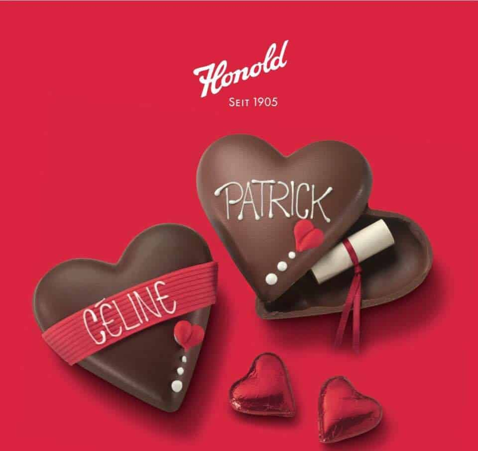 Chocolate Valentine Workshops at Honold February 2018