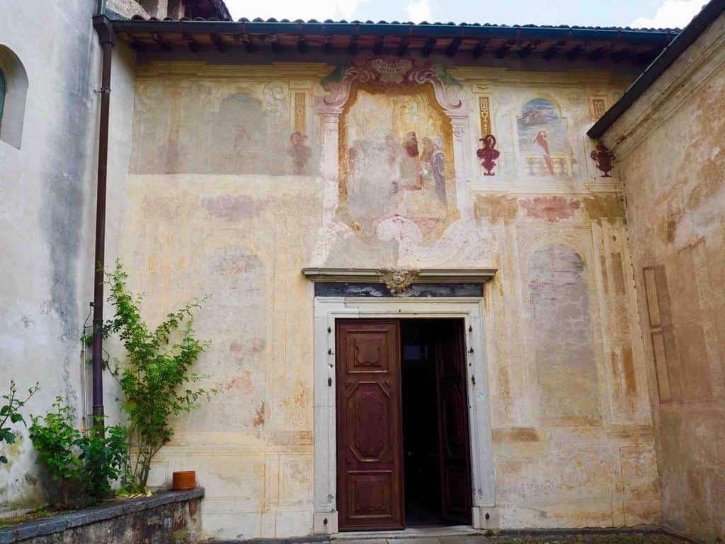 The Madonna del Sasso Church at Morcote