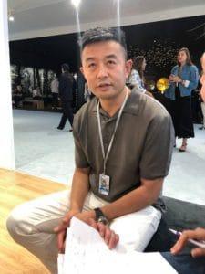 Artist Liu Bolin for Ruinart at Art Basel 2018