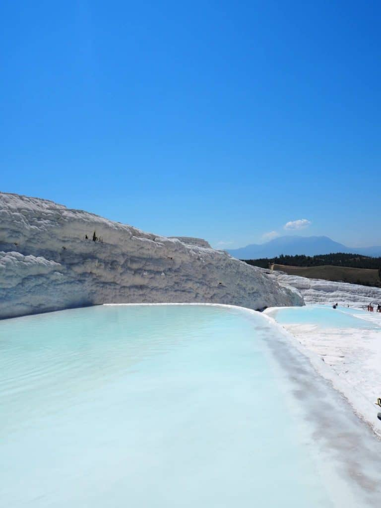 Pamukkale Salt Travertines Turkey