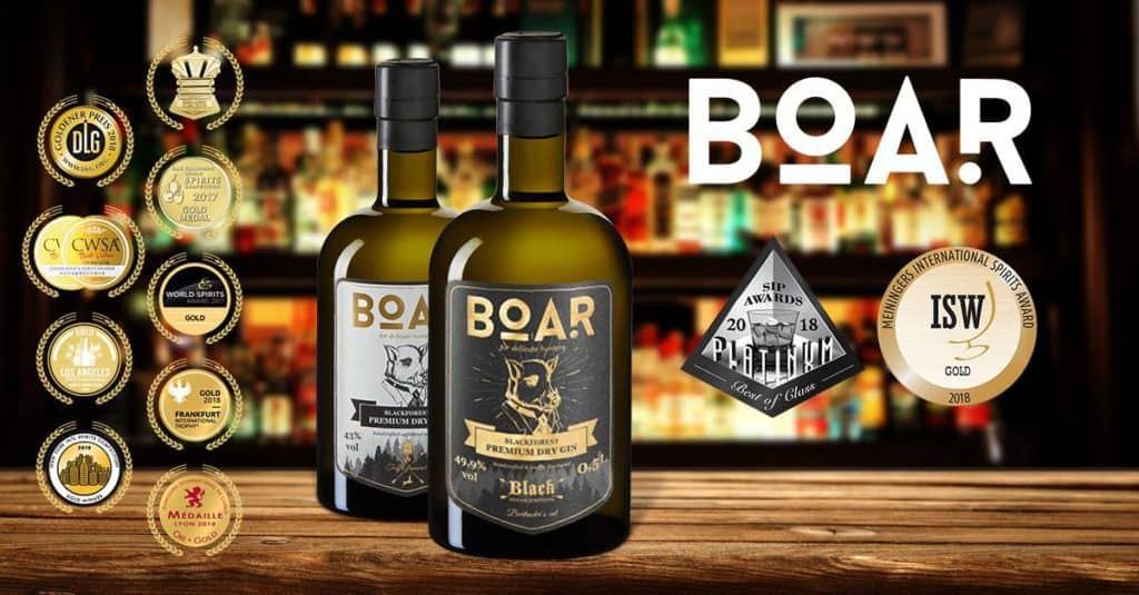BOAR GIN - A Gin Sensation from the Black Forest