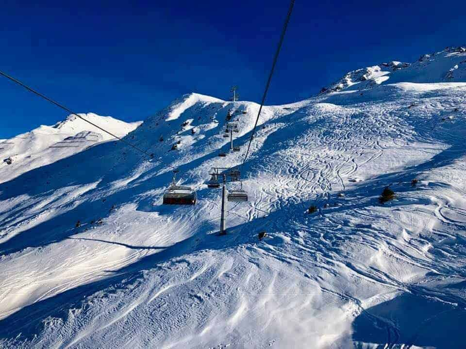 Skiing in Arosa Lenzerheide