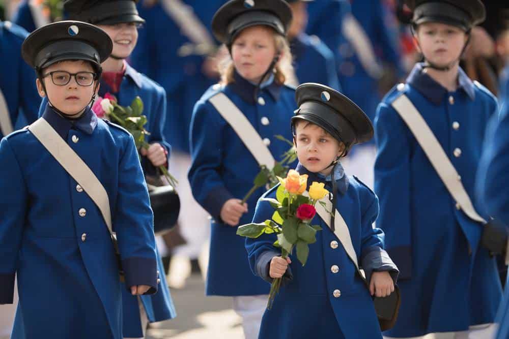 The Children's Parade Sechseläuten 2019 Zurich