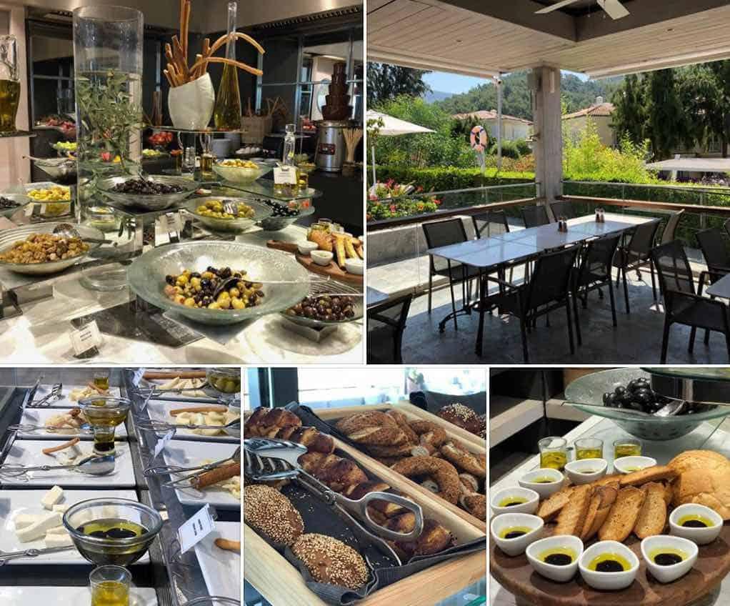 Breakfast D-Resort Gocek – Small Luxury Hotel In Southern Turkey