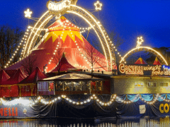 "Conelli Circus, Salto Natale Circus and the ""Swiss Christmas"" Show in Zurich"