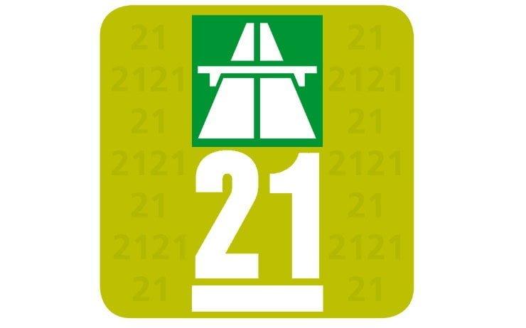 Auto Vignette for Motorway Driving in Switzerland