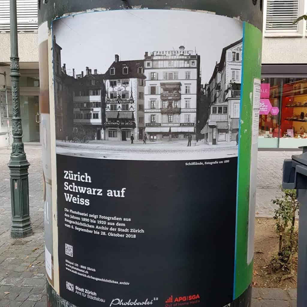 Zurich Schwarz Auf Weiss Exhibition Photobastei