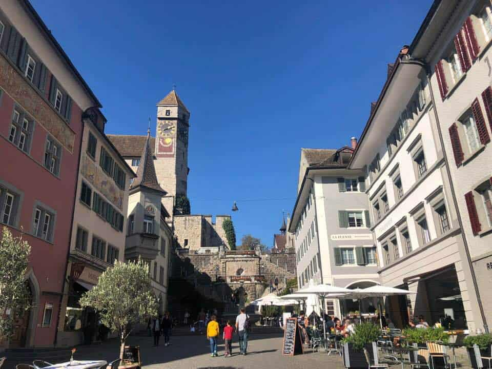 The Medieval City of Rapperswil