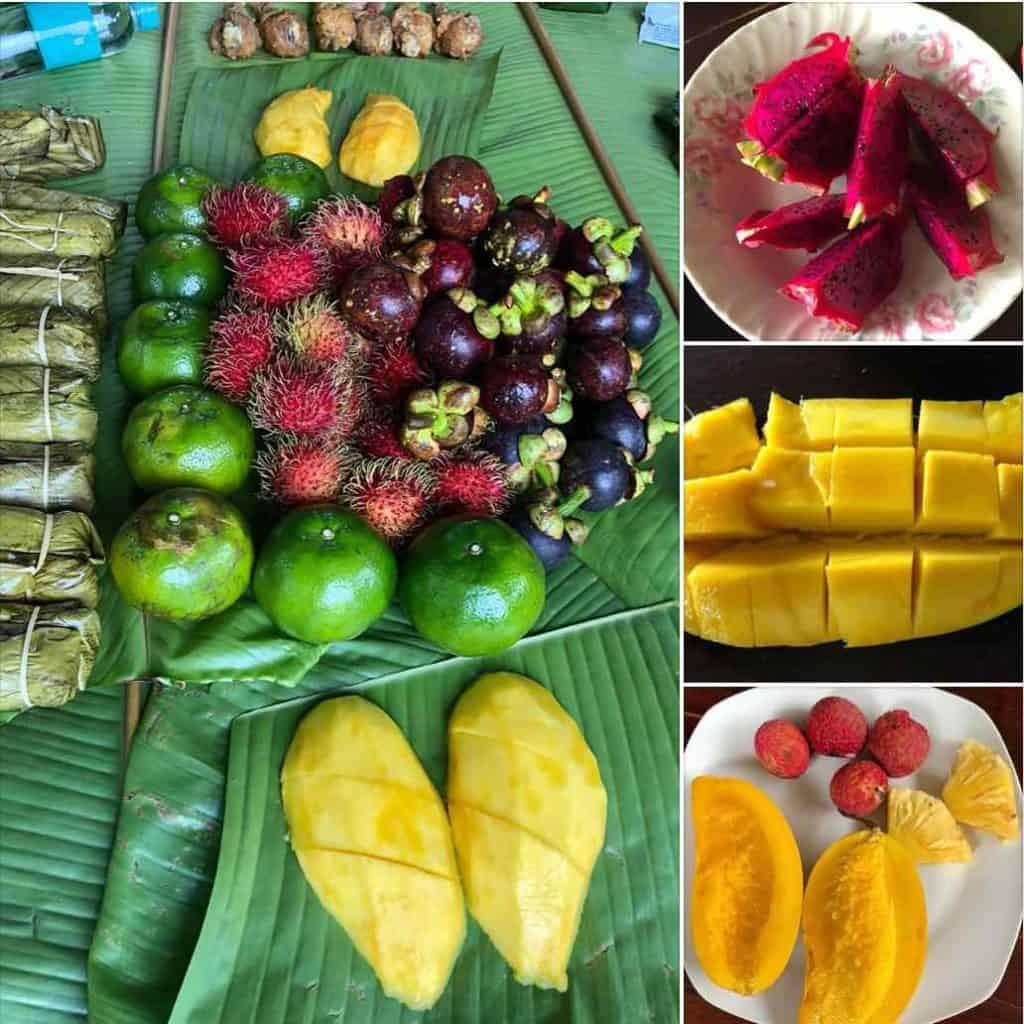 Fresh fruit in Thailand