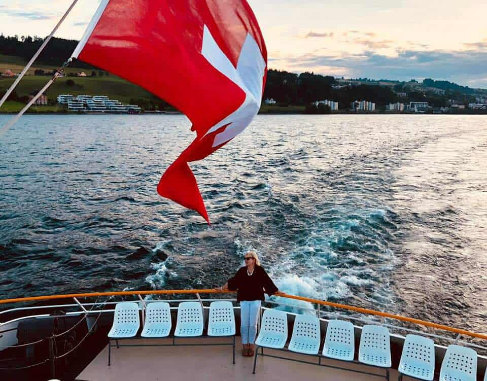 Build-Your-Burger Cruise on Lake Zurich