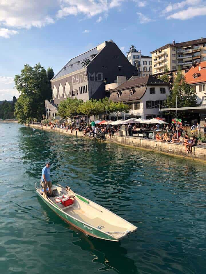 Oberer Letten and the Dynamo Zurich