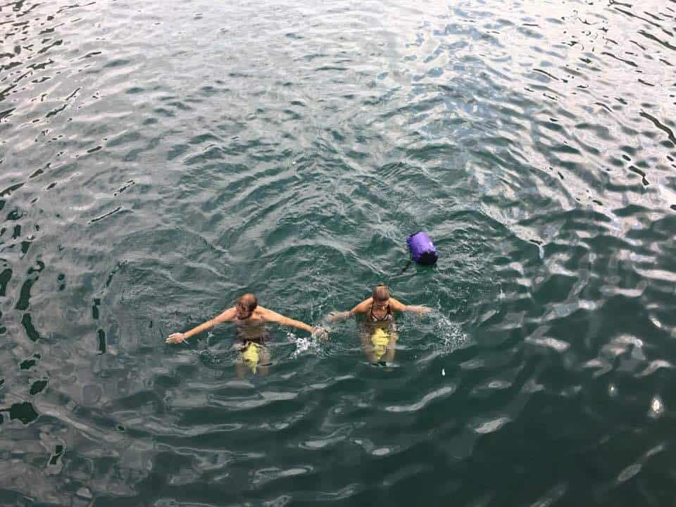 Photos of Limmat swim Zurich