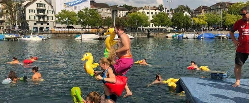 Limmatschwimmen photos