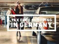 Tax Free Shopping in Germany from Switzerland