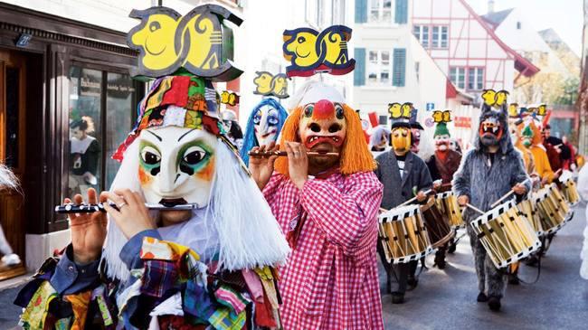 Celebrating Basel Fasnacht