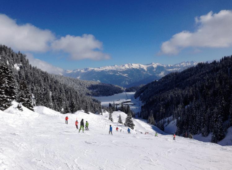 Flims / Laax Ski resort