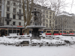 Photos of Snow and Ice in Zurich (Part 1)