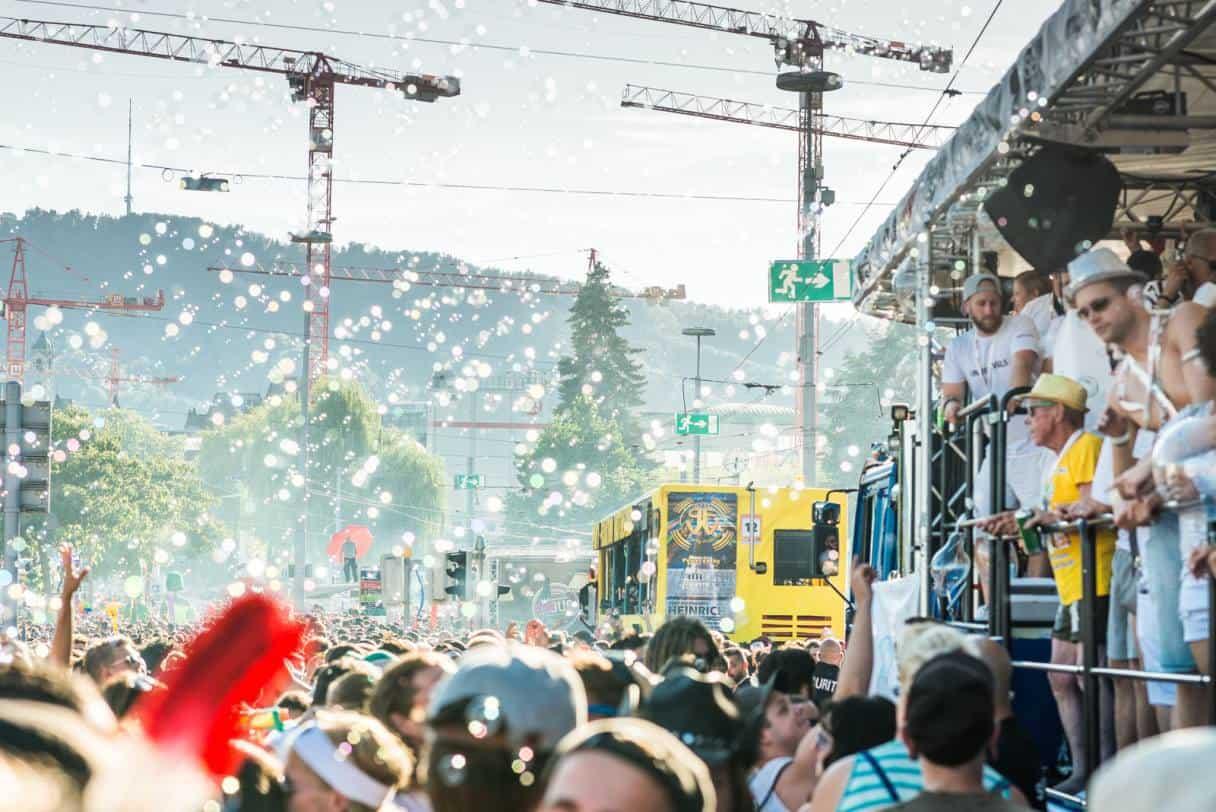Street Parade Zurich 2018