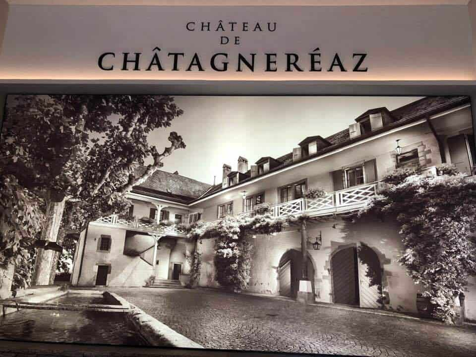 Chateau de Chatagnereaz and Vineyards Switzerland