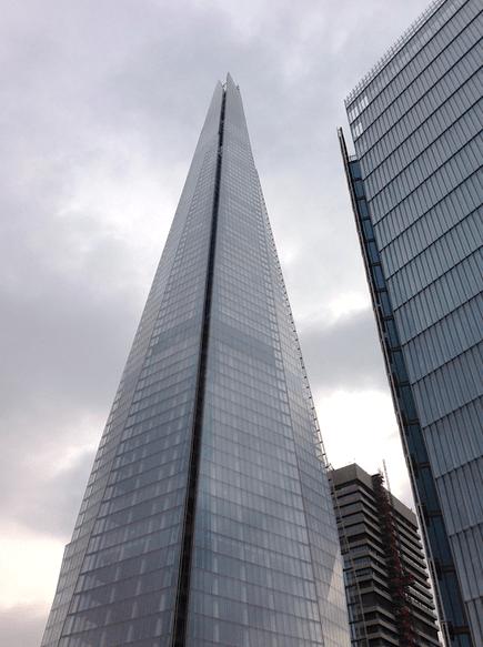 The Shard in London ©newinzurich.com