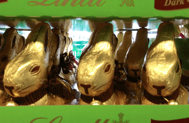 Chocolate bunnies ©newinzurich.com