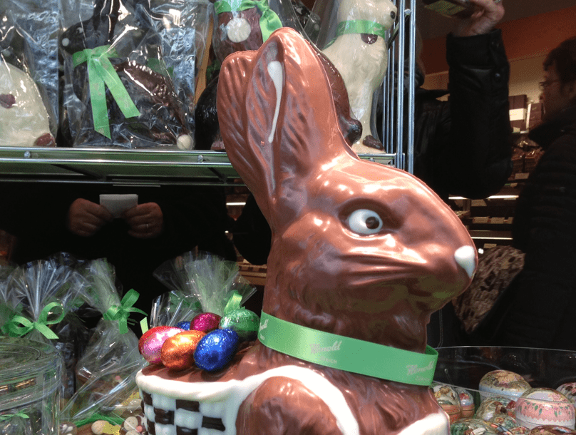 Chocolate bunnies ©newinzurich.com