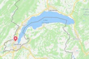 Google maps Palexpo Geneva