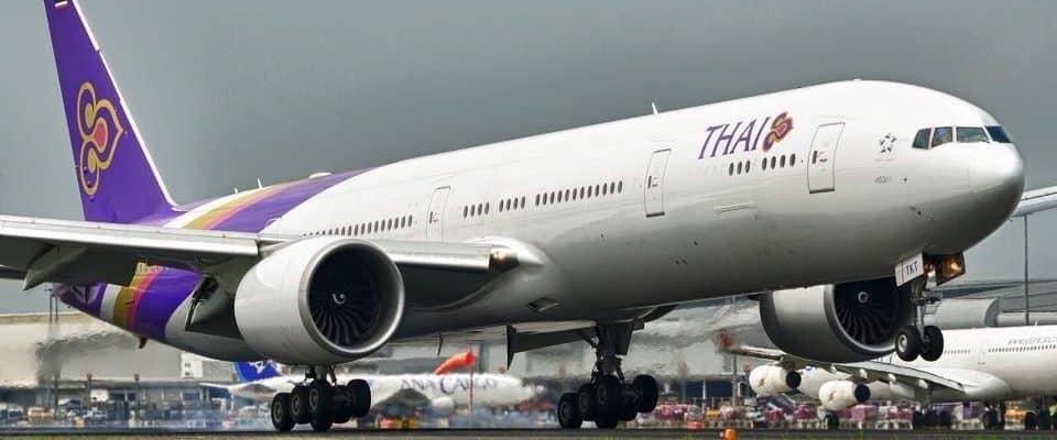 Flying Thai Airways From Zurich To Bangkok