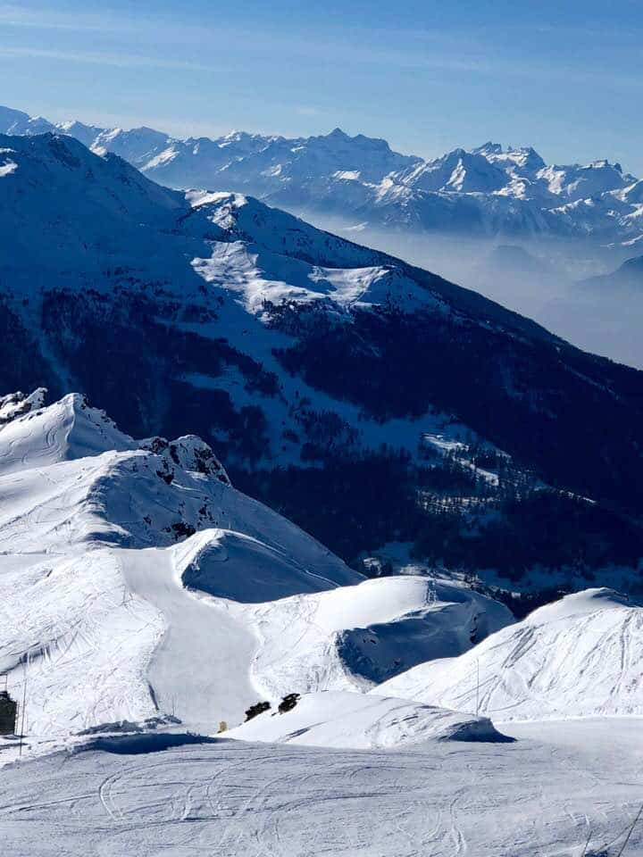 Skiing St Luc - Chandolin Val d'Anniviers Switzerland