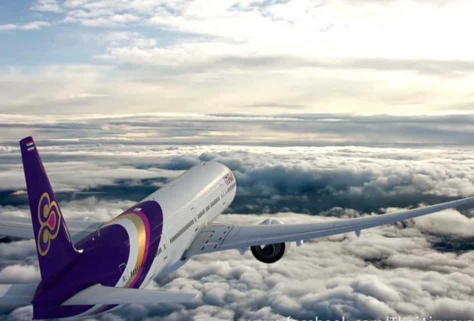 Flying Thai Airways From Zurich To Bangkok
